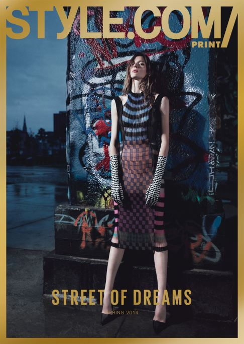 Issue 05 Street of Dreams Elise Cromez in Dior by Willy Vanderperre
