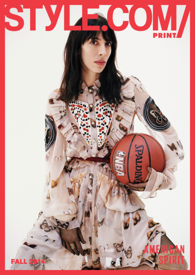 Issue 06 American Spirit Jamie Bochert in Givenchy by Angelo Pennetta